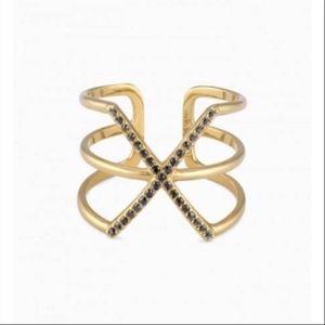 Stella & Dot Pave Sphinx Ring